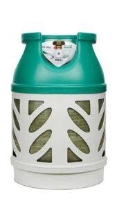 Kunststoff-Gasflaschen mit 7.5 kg Füllung