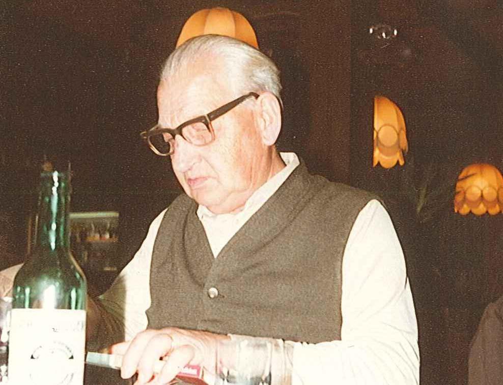 Adolf Iten, Firmengründer der Aegeritalgarage
