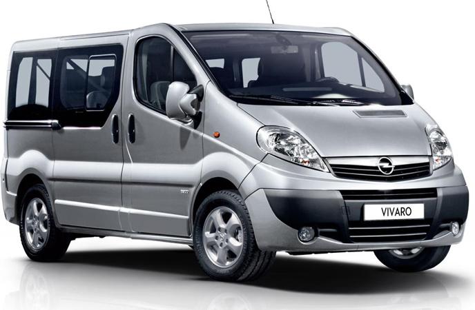 Langzeitmiete Opel Vivaro