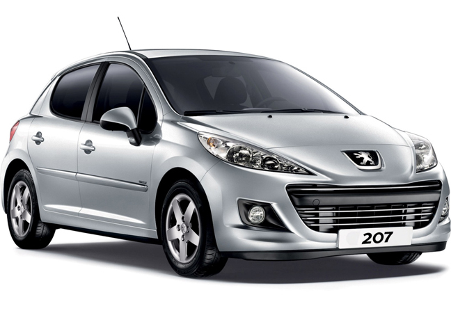 Langzeitmiete Peugeot 207