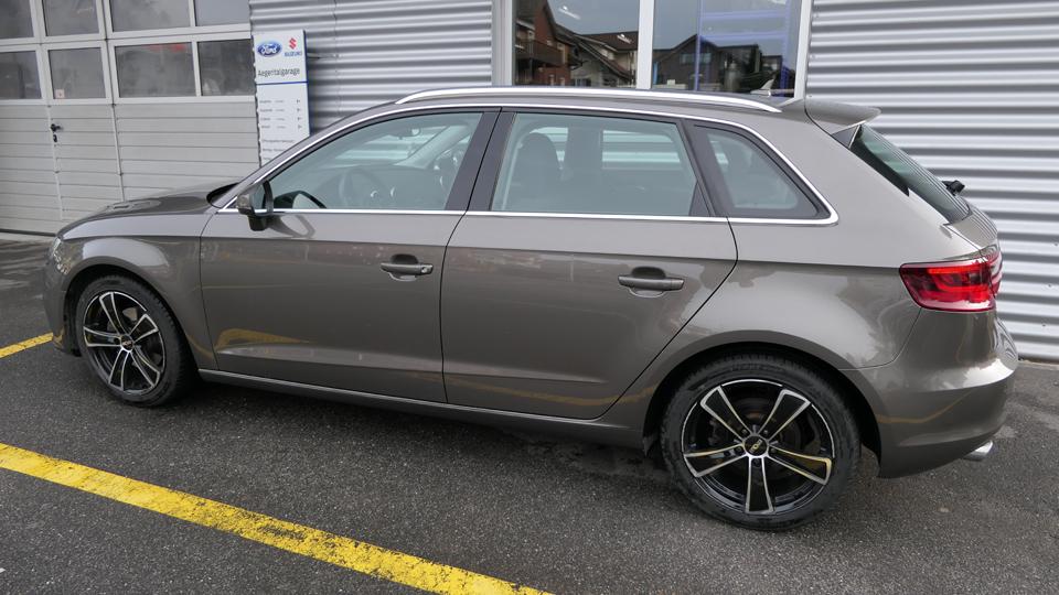 Carrosserie Reparatur Audi nachher