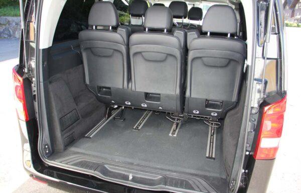 Mercedes-Benz Vito schwarz Kofferraum