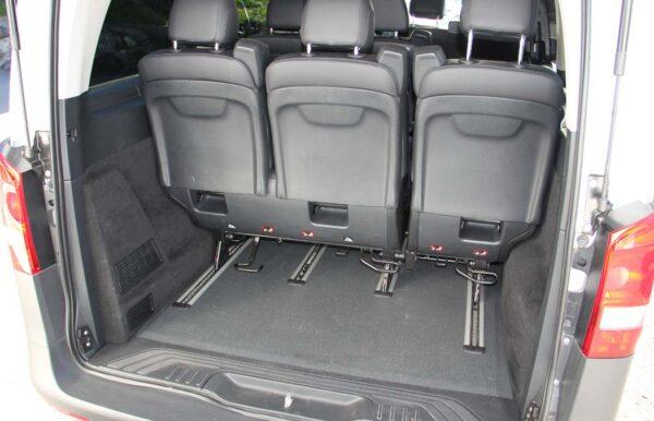 Mercedes-Benz Vito silber Kofferraum