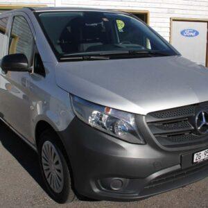 Mercedes-Benz Vito silber Vorderansicht