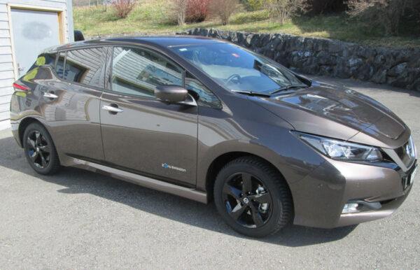 Nissan Leaf Elektro Seitenansicht