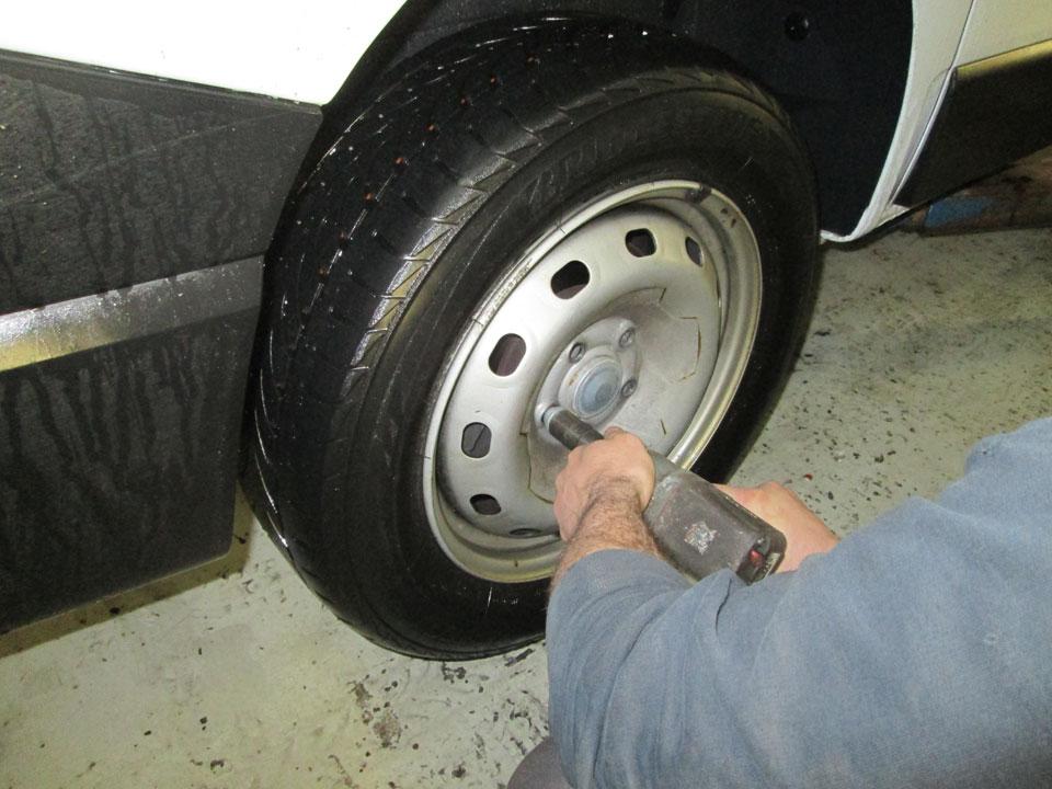 Reifenwechsel Domontage