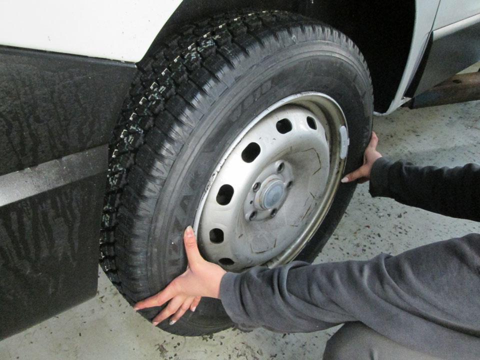 Reifenwechsel Montage