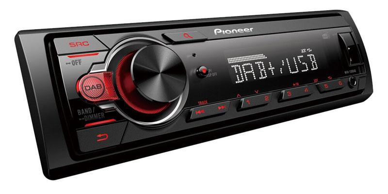 Radionachrüstung in Auto für digitalen Empfang und Bluetooth