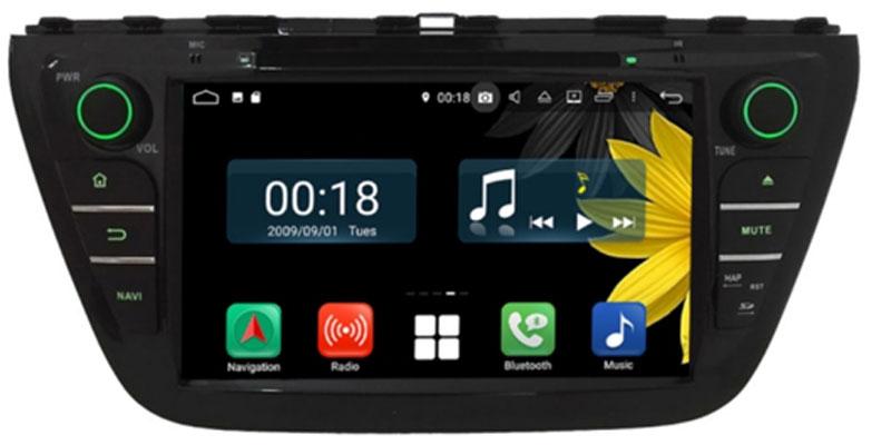 Radionachrüstung in Auto für digitalen Empfang mit Navigation und Bluetooth