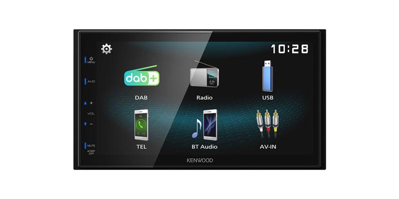 Radionachrüstung in Auto für digitalen Empfang, ohne Navigation
